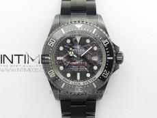 Sea-Dweller 126660 ROF DLC Ox Best Edition Black Dial on DLC Bracelet A2836
