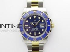 Submariner 41mm 126613 LB SS/YG BP Best Edition Blue Dial on SS/YG Bracelet