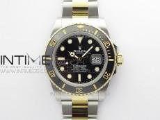 Submariner 41mm 126613 LN SS/YG BP Best Edition Black Dial on SS/YG Bracelet