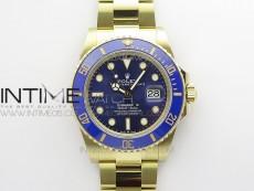 Submariner 41mm 126613 LB YG BP Best Edition Blue Dial on YG Bracelet