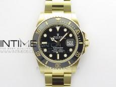 Submariner 41mm 126613 LN YG BP Best Edition Black Dial on YG Bracelet