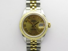 Datejust 28mm 279173 SS/YG BP Best Edition YG Roman Markers Dial on SS/YG Jubilee Bracelet ETA2671
