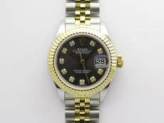 Datejust 28mm 279173 SS/YG BP Best Edition Gray Crystals Markers Dial on SS/YG Jubilee Bracelet ETA2671