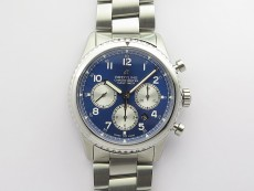 Navitimer 8 SS B12 Best Edition Blue dial On SS Bracelet A7750
