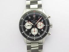 Navitimer 8 SS/DLC B12 Best Edition Black dial On SS Bracelet A7750