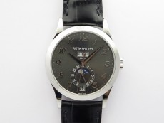 Annual Calendar Complications 5396 SS GRF Best Edition Gray dial on Black leather strap A324