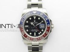 GMT Master II 116719 BLRO 904L SS MIF 1:1 Best Edition on Oyster Bracelet SA3186 CHS