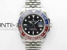 GMT Master II 126710 BLRO 904L SS MIF 1:1 Best Edition on Jubilee Bracelet SA3285 CHS