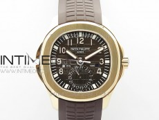 Aquanaut 5164R RG ZF 1:1 Best Edition Brown Dial on Brown Rubber Strap A324