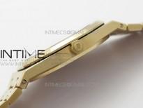 Royal Oak 39mm 15202 RG ZF 1:1 Best Edition Blue Textured Dial on RG Bracelet A2121