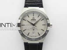 Constellation 131.33.41.21.03.001 SS TW Best Edition White Dial On Black Gummy Strap A8500