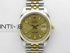 DateJust 41 126333 Wrapped SS/YG ARF 1:1 Best Edition YG Lumed Dial on Wrapped SS/YG Jubilee Bracelet A3235