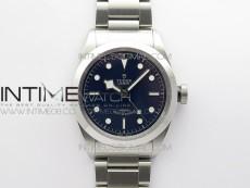Black Bay 41 SS LF 1:1 Best Edition Blue Dial on SS Bracelet A2824