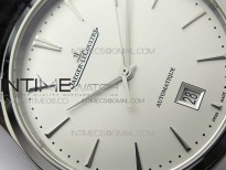 Master 1238420 SS ZF 1:1 Best Edition Silver Dial on Black Leather Strap A899/1
