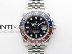 GMT Master II 126710 BLRO Red/Blue 904L SS 3EF 1:1 Best Edition on Jubilee Bracelet VR3285 CHS