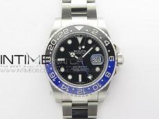 GMT-Master II 116710 BLNR Black/Blue Ceramic 904L Steel VRF 1:1 Best Edition VR3186 CHS V3 (CF Bezel)