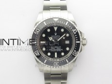 Sea-Dweller 116660 VRF 1:1 Best Edition Black Dial on SS Bracelet A2836