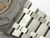 Royal Oak 41mm Complicated 26574 SS APSF1:1 Best Edition Blue Dial on SS Bracelet A5134
