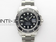 Submariner 41mm 126610 LN CF Black Ceramic Bezel 904L 3EF 1:1 Best Edition Black Dial On Oyster Bracelet SA3235