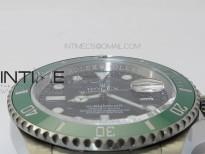 Submariner 41mm 126610 LV CF Green Ceramic Bezel 904L VVSF 1:1 Best Edition Black Dial On Oyster Bracelet A3235