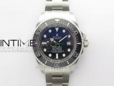 Sea-Dweller 116660 VRF 1:1 Best Edition Blue Dial on SS Bracelet A2836