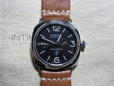 PAM380 N H-Maker Best Edition on Hand-Stitched Brown Leather Strap A6497